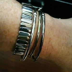Nine West stretch bracelets, NWT